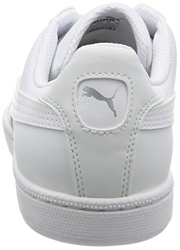 Zapatillas Puma Smash Buck, Unisex Low-athletic, 46 Eu White (puma White-puma White 24)
