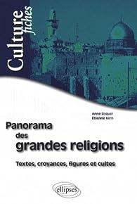 Panorama des grandes religions par Anne Boquel