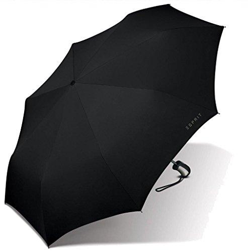 ESPRIT Parapluie pliant, noir (Noir) - 52501AZ