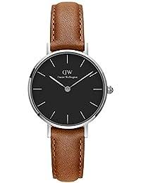Daniel Wellington Reloj Analógico para Mujer de Cuarzo con Correa en Cuero DW00100234