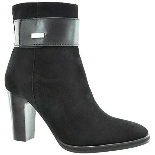 Footwear Suede Damen Normal Schwarz Leder Stiefeletten Goat Croy JJ TFnxfq8dq