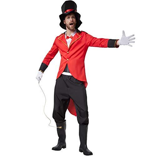 dressforfun 900552 - Herrenkostüm schneidiger Zirkusdirektor, Stilechtes und Zeitloses Outfit eines Zirkusdirektors (XL | Nr. 302541)