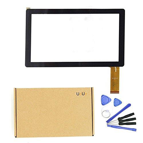uouo Touch Screen Digitizer Glas Panel für 17,8cm Dragon Touch Y88Y88X Q88Tablet PC mit Werkzeug-Set