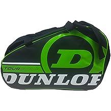 Dunlop TOUR COMPETITION - Paletero de pádel, 2017, color negro/verde