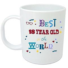 Idea Regalo - Tazza regalo per ° compleanno. Brillante idea regalo per i 18anni–Tazza in ceramica di qualità