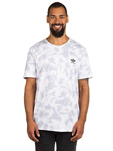 Herren T-Shirt adidas Skateboarding Crystal Clima 2.0 T-Shirt clear grey/white