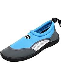 Calzado de agua para niño Bockstiegel de neopreno, modelo Juist-1, Couleur:bleu clair;Taille:25