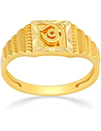 Malabar Gold & Diamonds 22KT Yellow Gold Ring for Men