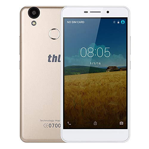 SO-buts THL T9 Pro 4G Smartphone, 5.5 Zoll 2G+16G ROM, Android 6.0 Touchscreen, Dual-Karte Dual-Standby-, HD-Kamera WiFi Bluetooth, (Gold)