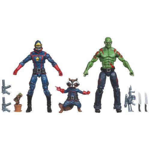 Guardians of the Galaxy (Starlord, Rocket Raccooon, Groot, Drax the Destroyer)