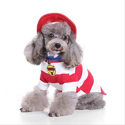 JBPX Halloween Hund Kostüm Weiche Katze Welpe Weihnachten Kleidung Assistent Papst Weihnachtsmann Anzieh Anzug Haustiere Lustige Party Kostüm S