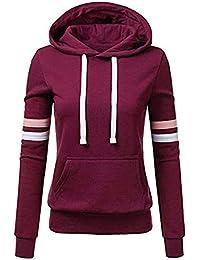 OVERMAL-1 Sweat-Shirts Femmes Vetement Automne Mode Sweat à Capuche Imprimé  Manches Longues 81656c3f3c6a