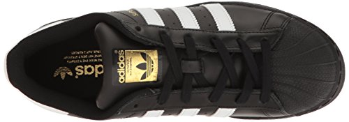 Adidas Superstar White Black Womens TrainersC77153 Black/White/Metallic/Gold
