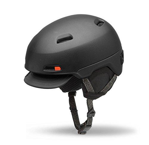 Giro Shackleton Winter Fahrrad Helm schwarz 2016: Größe: S (51-55cm)