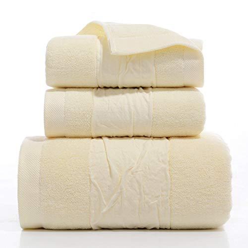 CXBHB [Dreiteiliges Baumwollhandtuch Badetuch Geschenk-Box Handtuch Badetuch Dreiteilig Firmengeschenk Alltag Haushalt, 4, Towel 34 * 74 Bath Towel 70 * 140