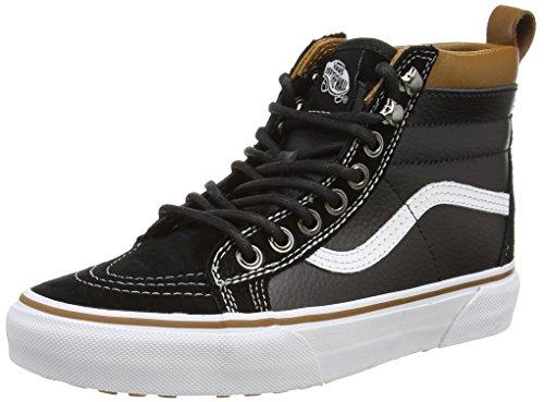 Vans Sk8-hi Mte, Sneakers basses mixte adulte Noir (Black/True White)