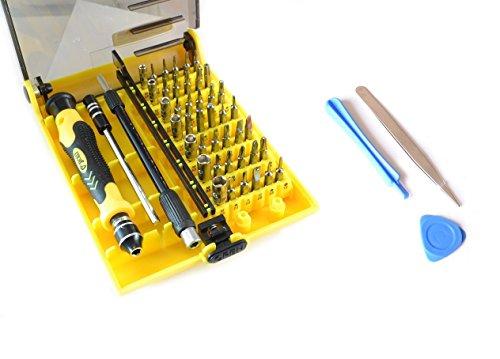 Preisvergleich Produktbild 45 in1 Werkzeug + Hebelwerkzeug für alle Samsung Galaxy S5 S4 S3 S2 S3mini S4mini S5mini Schraubendreher Magnet