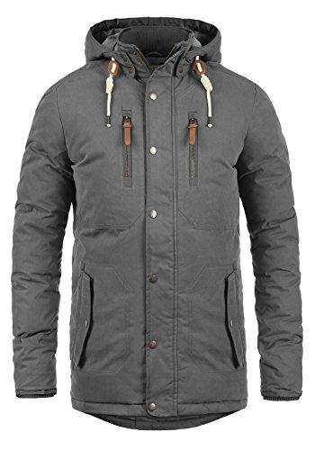 86973bfb55834 Solid Dry Jacque Herren Winterjacke Parka Herrenjacke Lange Jacke