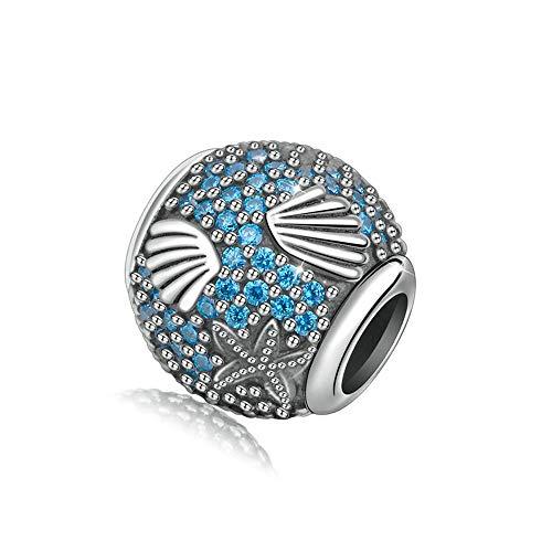 ONEBUYONE 925 Sterling Silber Perle Schöne Schiff Ozean Sea-Life Form Perle Charme Unisex Mode Armband Für Pandora,b -