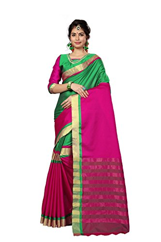 Saree Center new latest Cotton silk saree with Blouse
