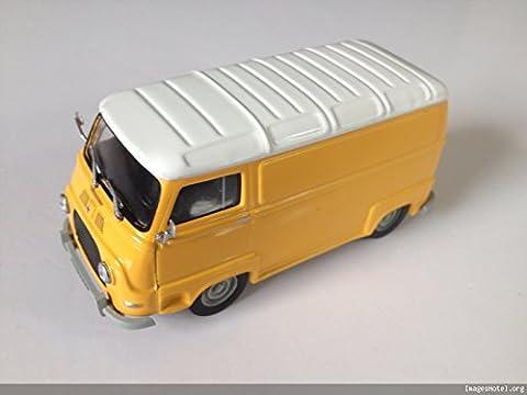 CAMIONNETTE Renault Estafette voiture de collection à l'échelle 1:43 jaune -réf 186**