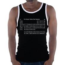 Touchlines - Camiseta sin mangas para hombre, diseño de la tabla periódica de elementos