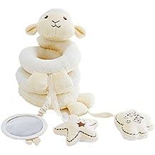 Ruiying - Sonajero colgante para bebés, forma en espiral para cochecito de bebé, asiento de coche o sillita