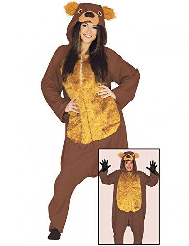 Imagen de disfraz de oso de tiro largo para adulto