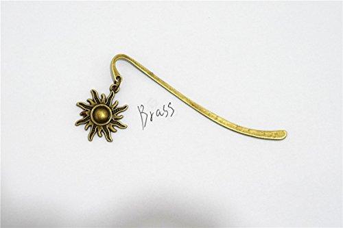 Sonne Reader (Messing Sun Lesezeichen, Messing, Charm, Sonne Lesezeichen, Geschenk für Reader Fashion Lesezeichen)