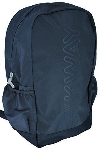 K-Way 7akk81240p701, Zaino Uomo, Nero (0P7 Coffee Black), 14x42x30 cm (W x H x L)