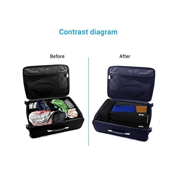 3Pcs Voyage Accessoires Sac de Rangement Organisateur en Nylon Imperméable