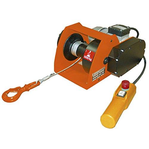 Levac 6529bfc Elektrische Seilwinde Traversenlift, orange