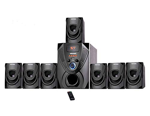 Vemax Hector 7.1 Bluetooth Multimedia Home Theater System with FM, AUX, USB,...