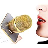 GROWEVER Handheld Wireless Microphone With Bluetooth Speaker For All IOS/Android Smartphones (Colour May Vary- 1 pic)
