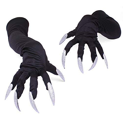 Handschuhe Halloween Cosplay Props Suits Hand Sleeves Paw Performance Cuffs ()