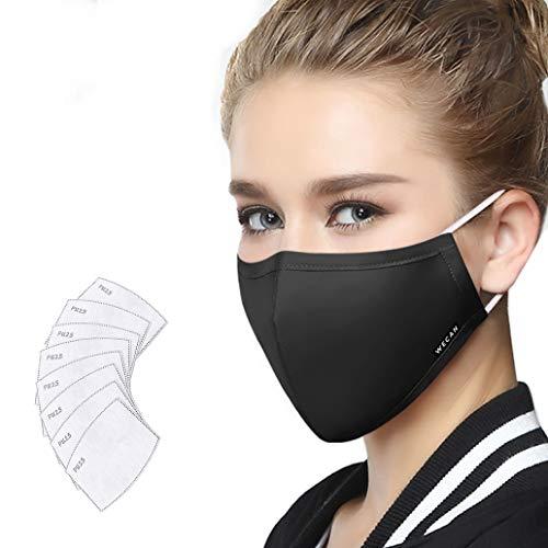 Lyanty Anti-Verschmutzung Mundschutz Maske Staubschut Anti-Allergie Maske PM2.5 -