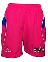Mallorca Beach Rugby Issue ocio pantalones cortos patrocinado por Kopparberg, color rosa, tamaño mediano