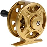MagiDeal 1 Piece Plastic Fishing Reel Spool Right or Left Handed Adjustable Gold