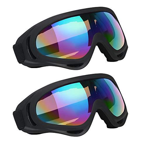 Vicloon Gafas Nieve Prueba Viento UV400 Ciclismo Moto