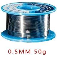 0.5MM 50g soldadura estaño baja temperatura de fusión alambre de soldadura línea de estaño no salpicaduras Regard