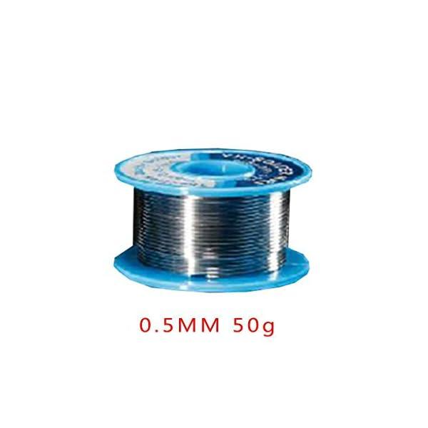 Topker 0.5MM 50g soldadura estaño baja temperatura de fusión alambre