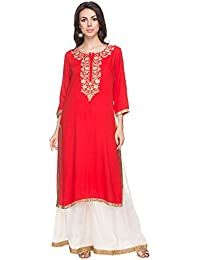 Kashish By Shoppers Stop Womens Embroidered Kurta