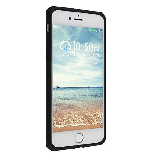 iPhone 7 Hülle, Asnlove Ultra Slim TPU Silikon Backcover Case Taschen Handy Schutzhülle Rutschfest für iPhone 7 4.7 Zoll - Grau Style-1