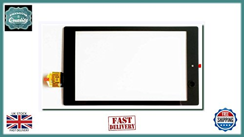 ICT Amazon Amazon Fire HD 8 2015 Front Touch Screen Digitizer Lens Black Touch Screen Digitizer Lens