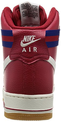 Nike Herren Air Force 1 High '07 Gymnastik, Blau Rot / Blau (Gym Rd / Sl-Dp Ryl Bl-Gm Lght Br)