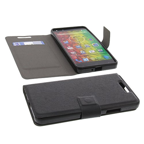 foto-kontor Tasche für MEDION Life X5001 Gummi TPU Schutz Handytasche milchig transparent