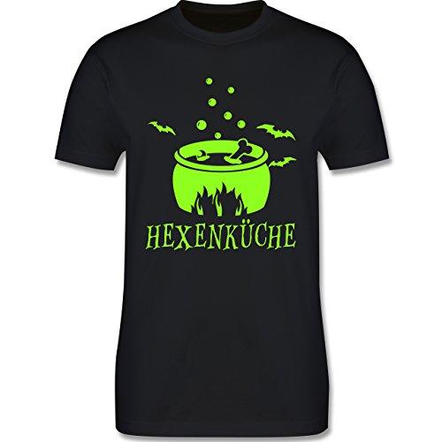 Küche - Hexenküche - Herren Premium T-Shirt Schwarz
