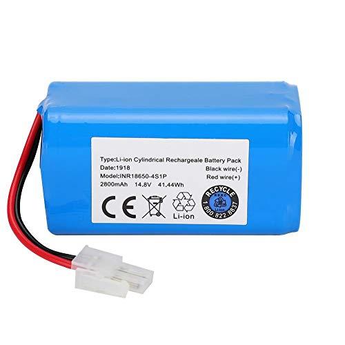 DGTRHTED Reemplazo de batería limpiadora - Batería de 14.8V 2800Mah for Robot Aspirador Ilife A4 A4S A6 V7