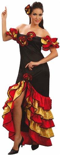 Imagen de disfraz de flamenca talla xl