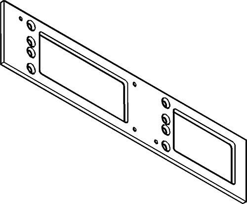 Preisvergleich Produktbild Montagepl.zu TS 4000/5000silberfarbig